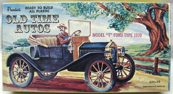 Premier 1 32 1910 Ford Model T Type 600 49 Plastic Model Kit