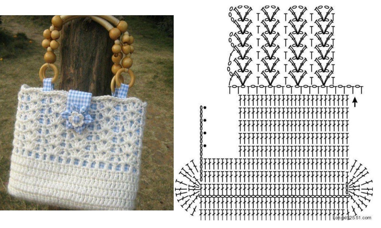сумки крючком со схемами и фото коленвал положение