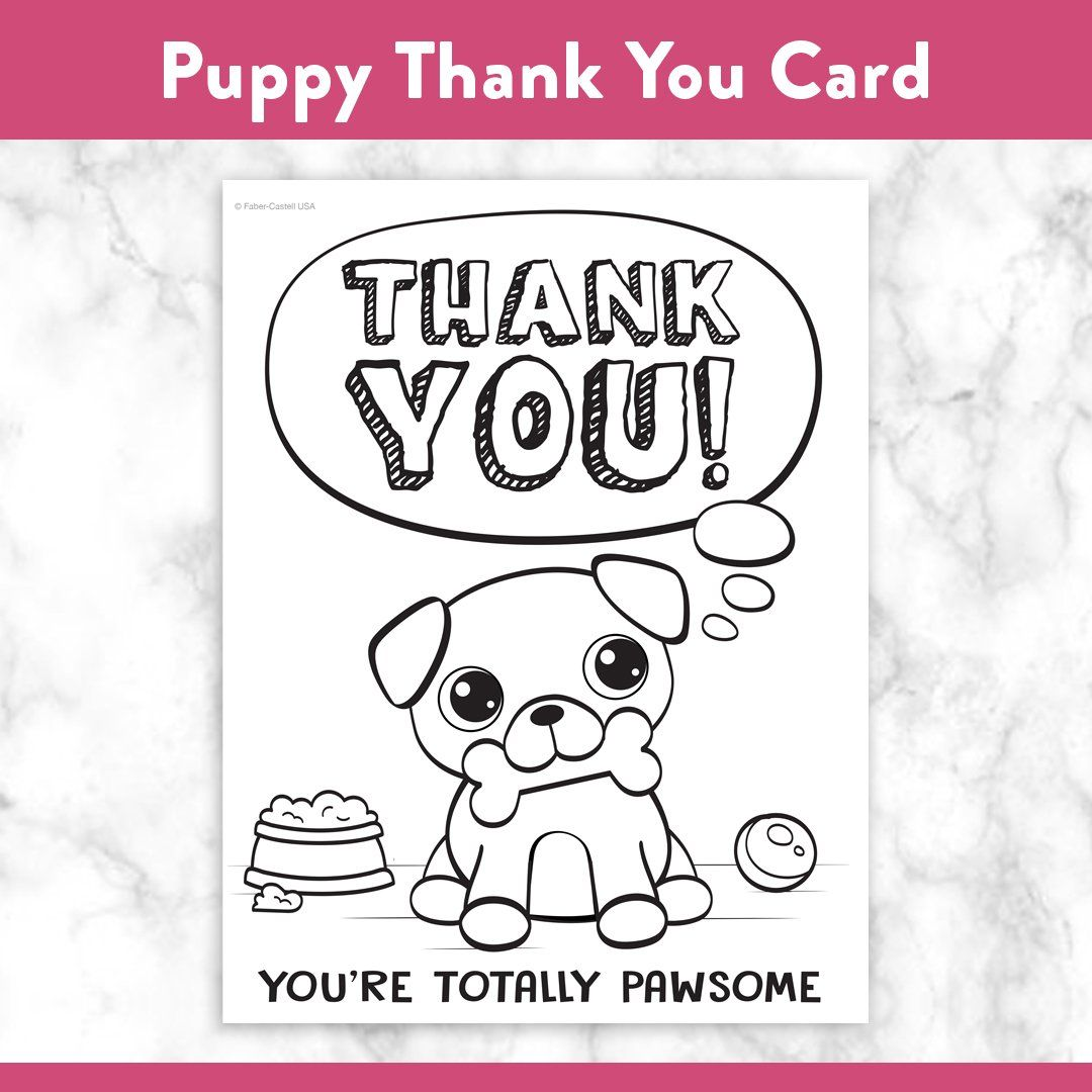Printable Coloring Thank You Cards Printable Thank You Cards Printable Coloring Free Printable Cards