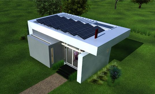 World S Smallest Sustainable House Can Fit A Family Of Four In