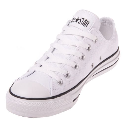 8248d06952c7  89.99 Converse Chuck Taylor 106926 Leather White Low Top ...