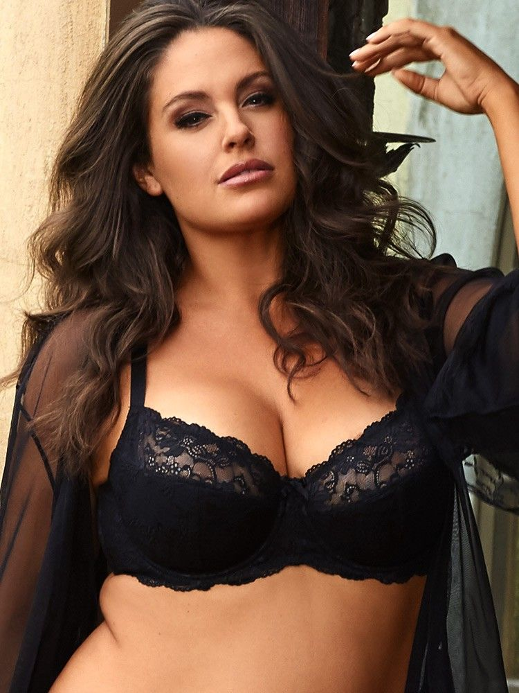 1d3dd5661 Hips And Curves Elise Lace Bra - 42D