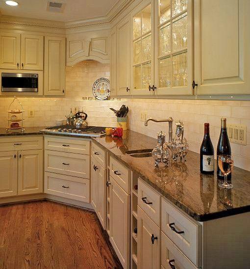 Kitchen Corner Stove Design, Pictures, Remodel, Decor And