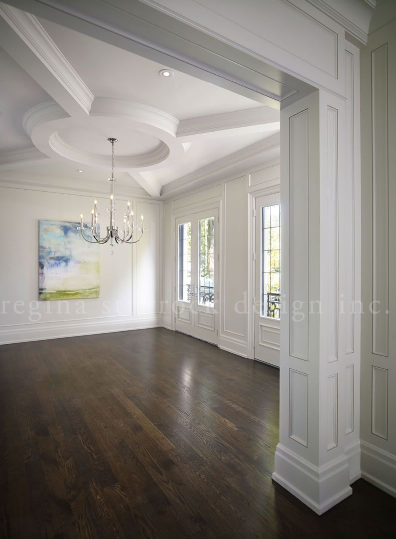 Regina Sturrock Design Inc oakville interior design project: beyond the blueprint