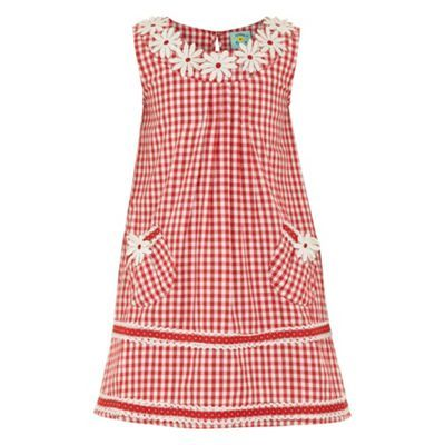 Gingham daisy dress at debenhams.com