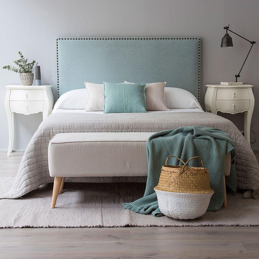 Nao cabecero tapizado home pinterest dormitorios cabeceras y decoracion habitacion - Cabeceros tapizados tela ...