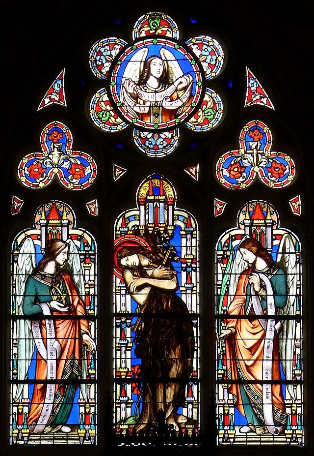 Eglise Saint Germain L Auxerrois Paris Wikipedia Eglise Vitrail L Art Du Vitrail Vitrail