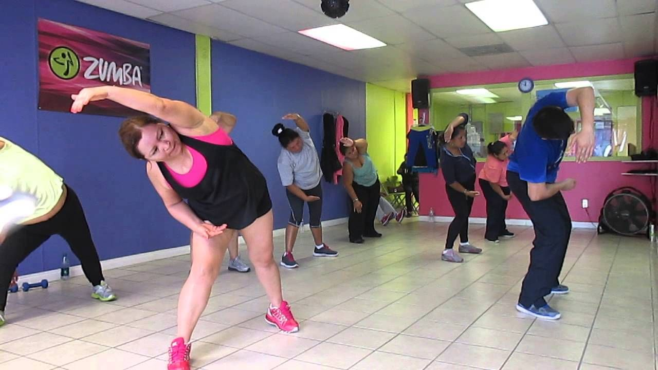 ZUMBA BY MANNY TORRES COOL DOWN LLUVIA Y&R STUDIO VIDEO 5