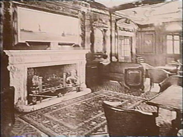 Smoking Room Fireplace
