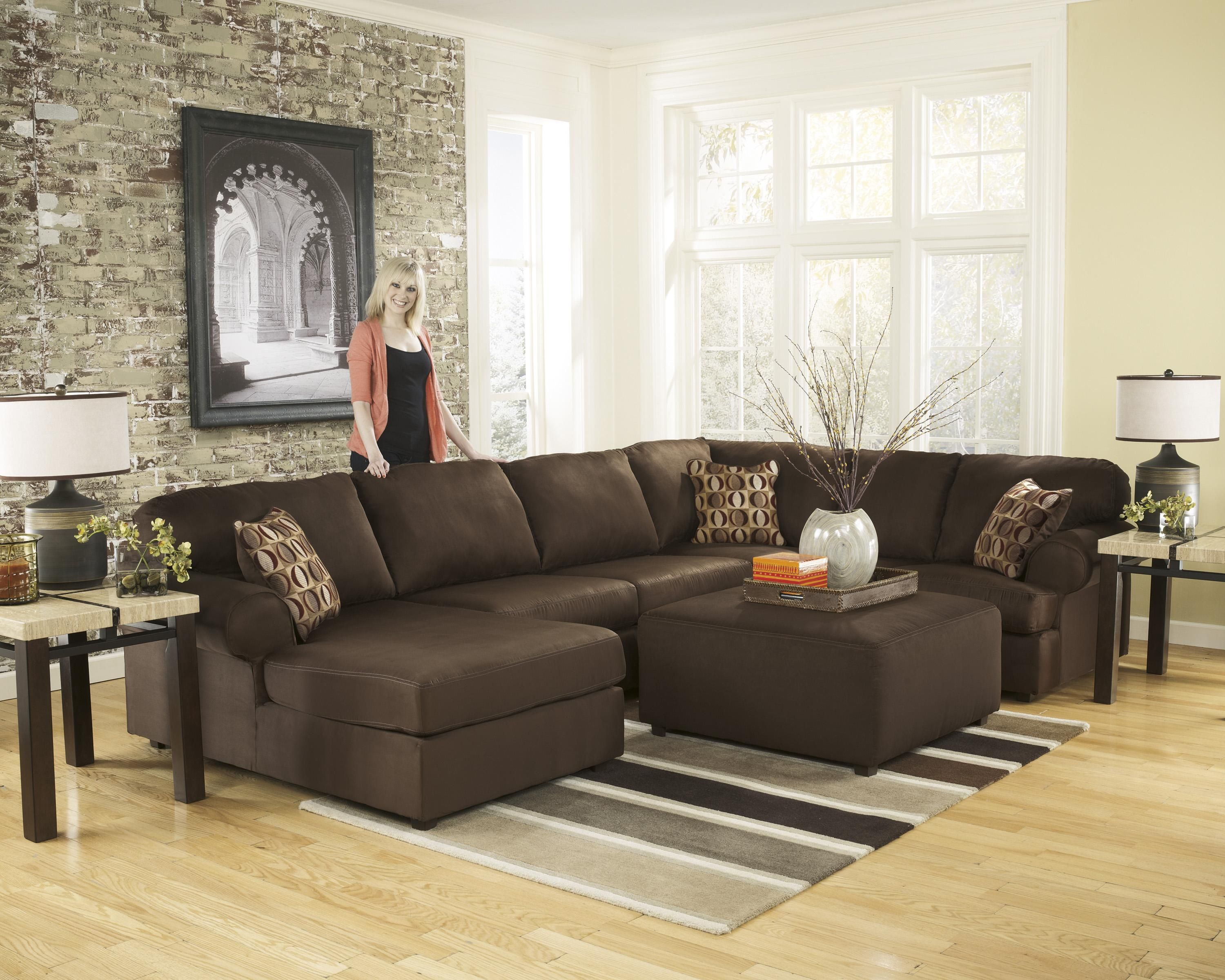 Signature Design by Ashley Cowan Cafe Stationary Living Room Group