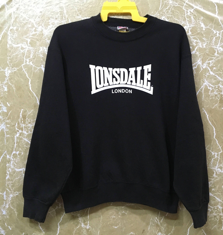 70d4e1e352c Vintage Lonsdale London sweatshirt jumper casual tennis jacket M size