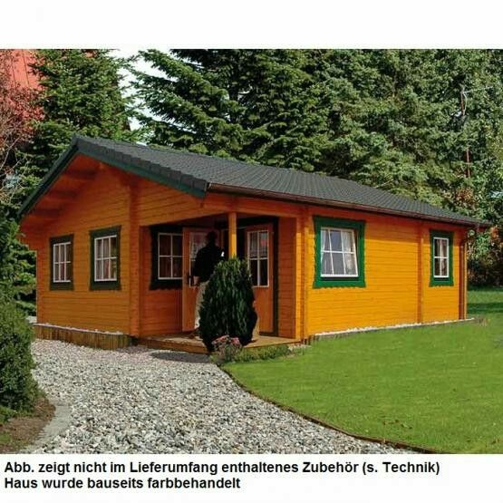 Joda Blockbohlenhaus Kronsgard Haus, Holzhaus, Style at home