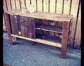 entertainment center out of pallets - Google Search