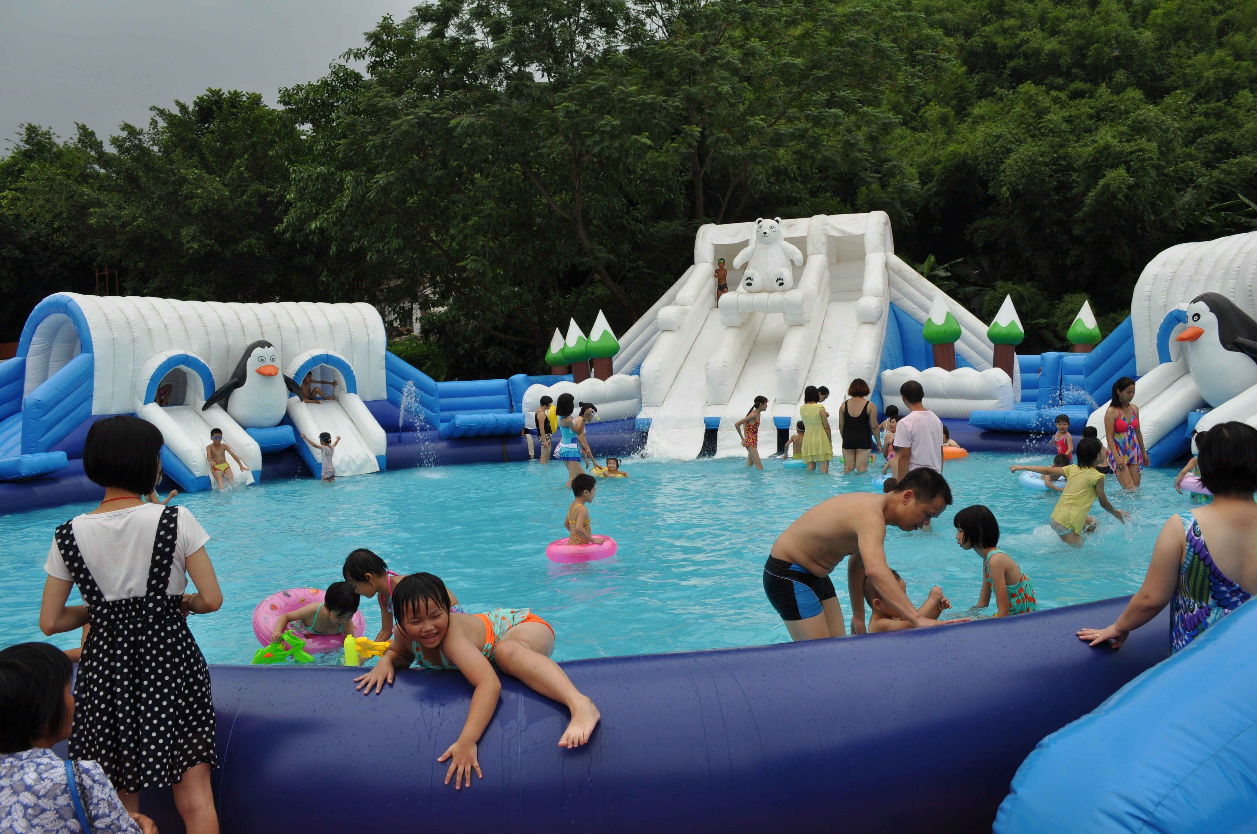 Best commercial inflatable aqua park with Inflatable water ...