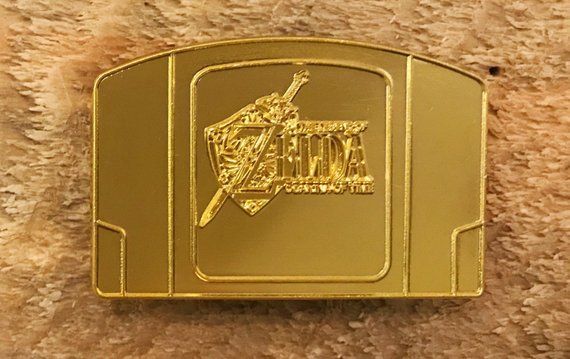 LMITED EDITION Gold The Legend Of Zelda Ocarina Of Time