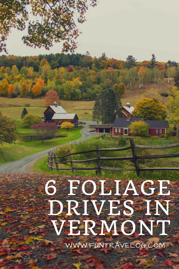 6 foliage drives through back roads of Vermont | Vermont, Leaves ...