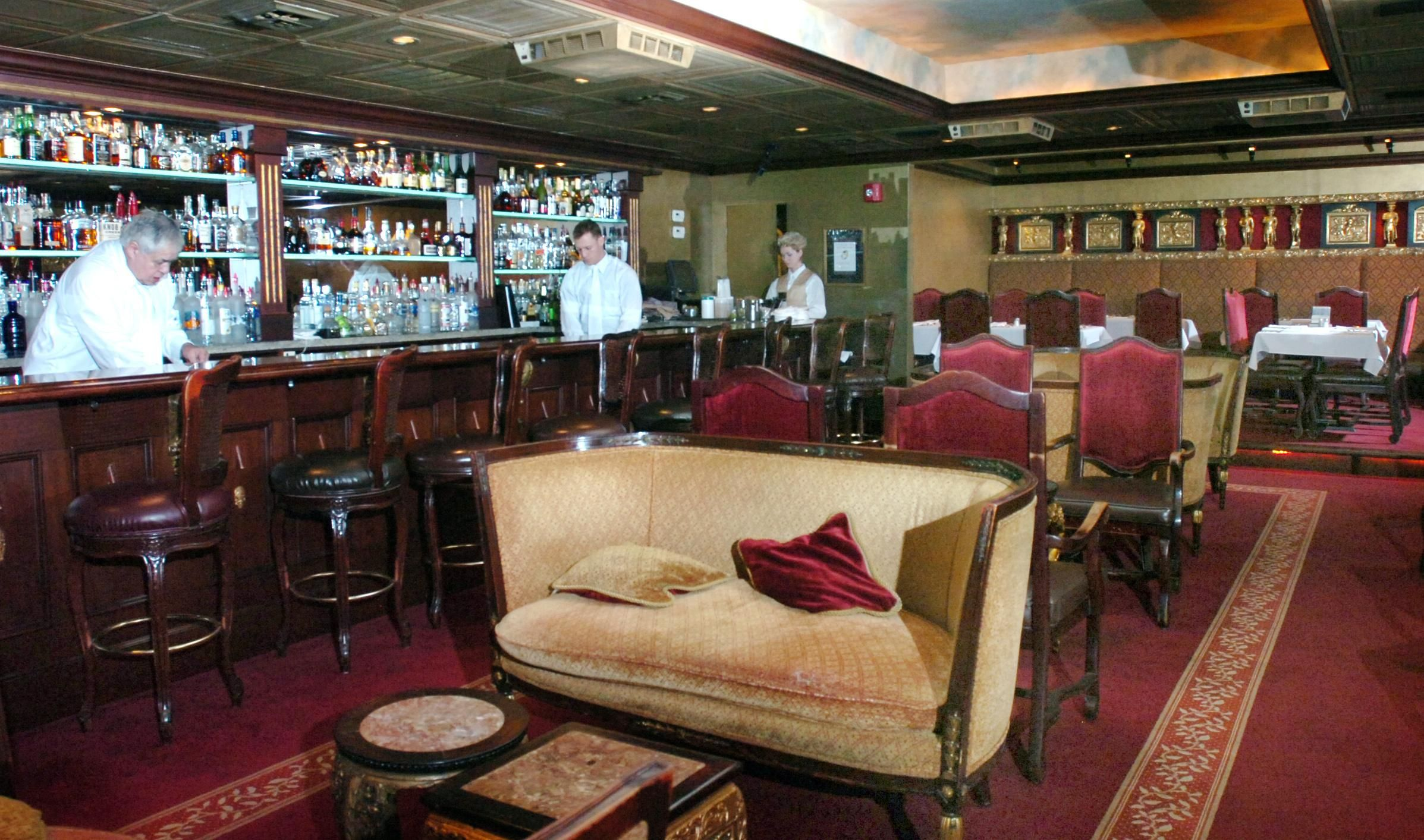 Berns steakhouse tampa fl this is the best bar and