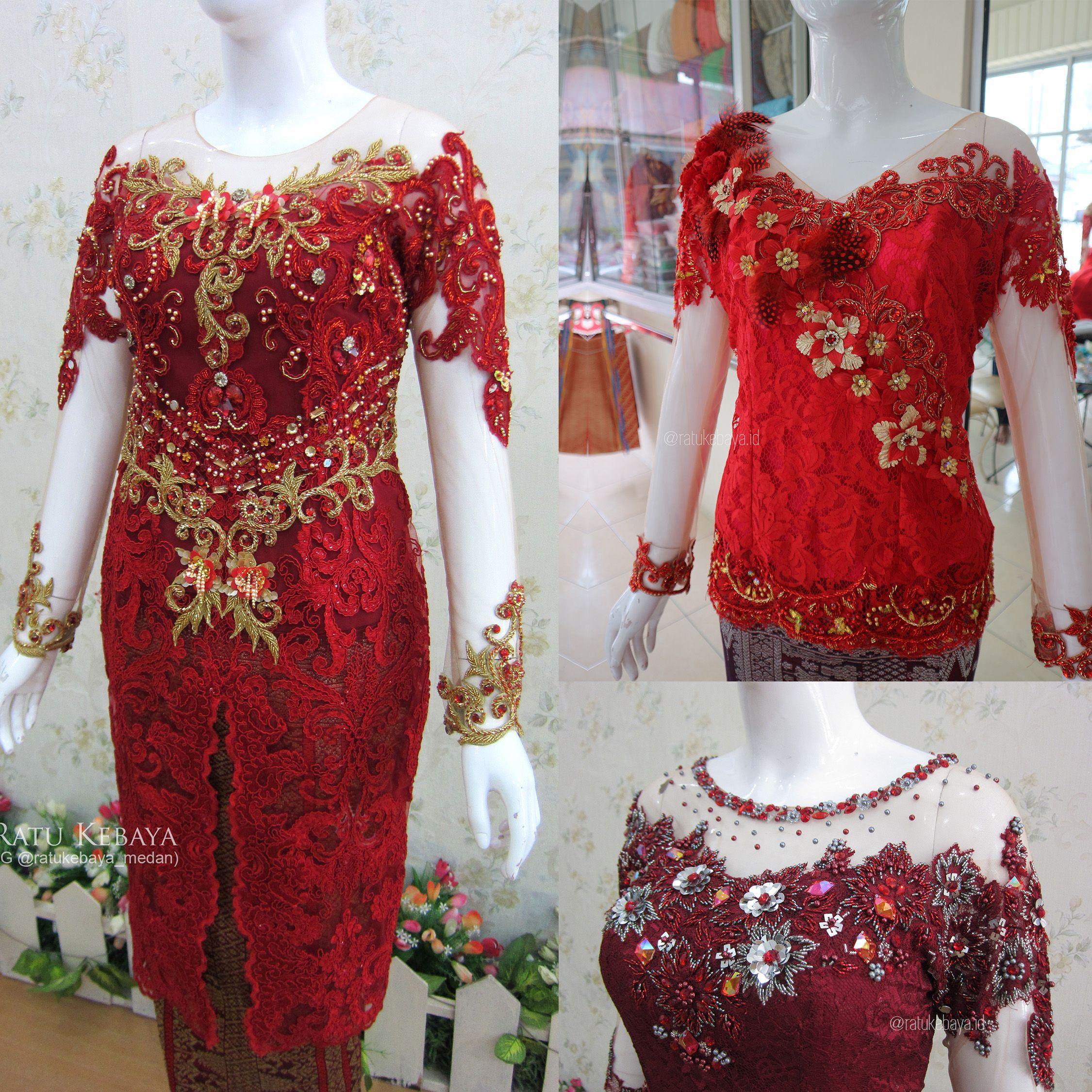 Beading Embellishment Ratukebaya Id Model Pakaian Pakaian Wanita Model Pakaian Wanita