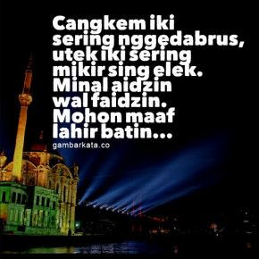 Gambar Ucapan Idul Fitri Bahasa Jawa 290x290 Gambar Kata Ucapan