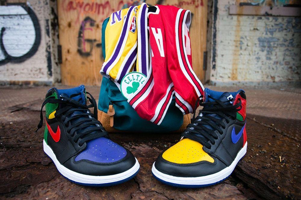 Sneaker Customizer Malcolm Garret Presents the Air Jordan