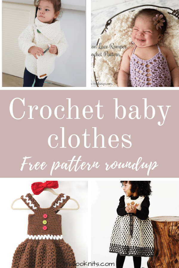 4bf2322a846e5 Crochet baby clothes free pattern roundup. This is day 7 of the 7 days of
