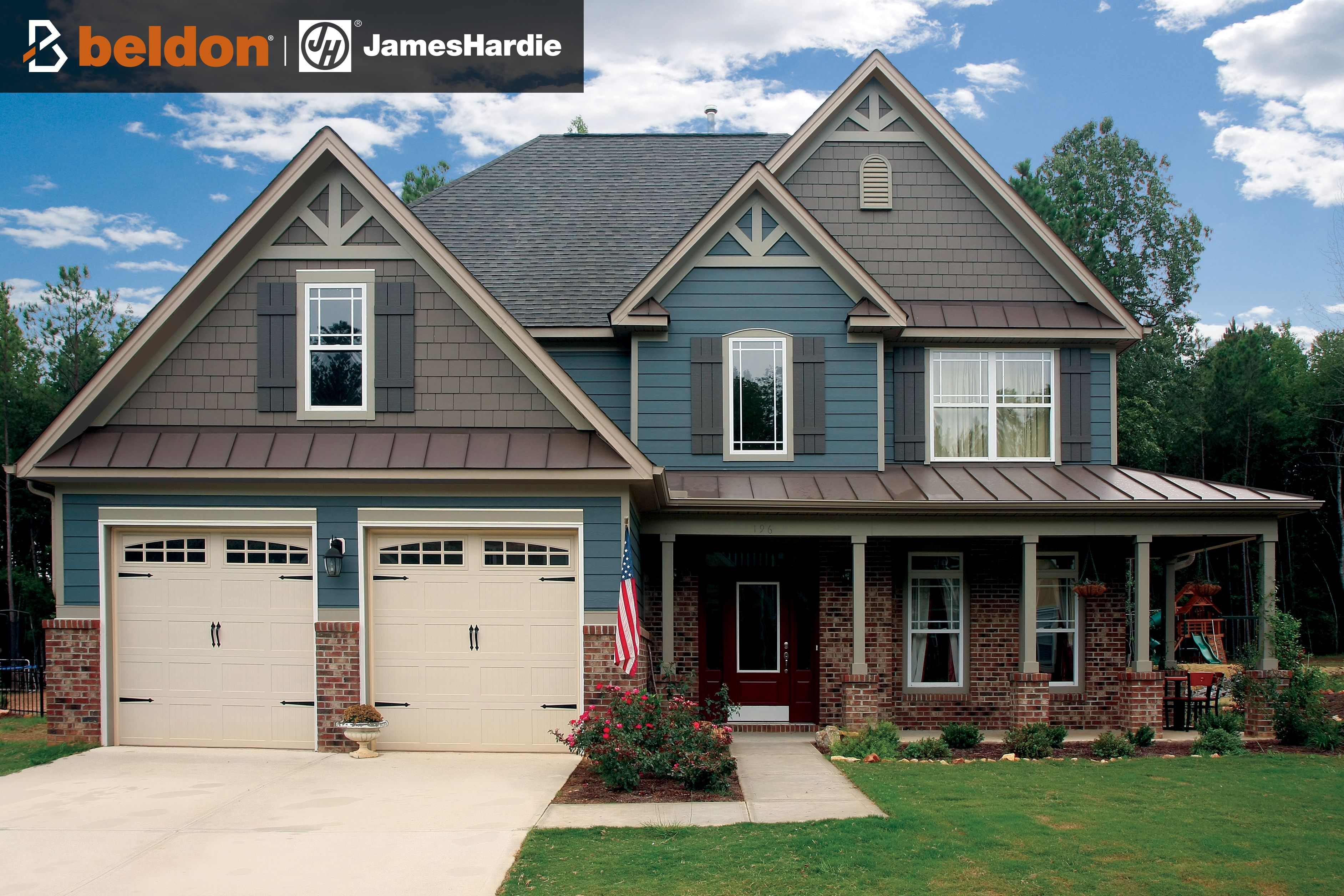 James Hardie Siding House Siding Blue Siding Hardie Siding