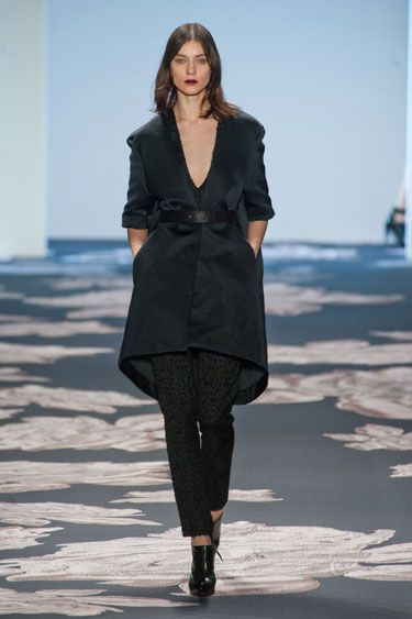 New York Fashion Week Fall 2013 Runway Looks - Best Fall 2013 Runway Fashion - Harper's BAZAAR