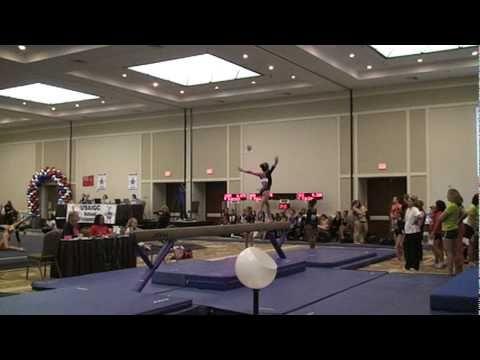 ▶ Alexis Rogers 2010 USAIGC Bronze National Beam champion - YouTube