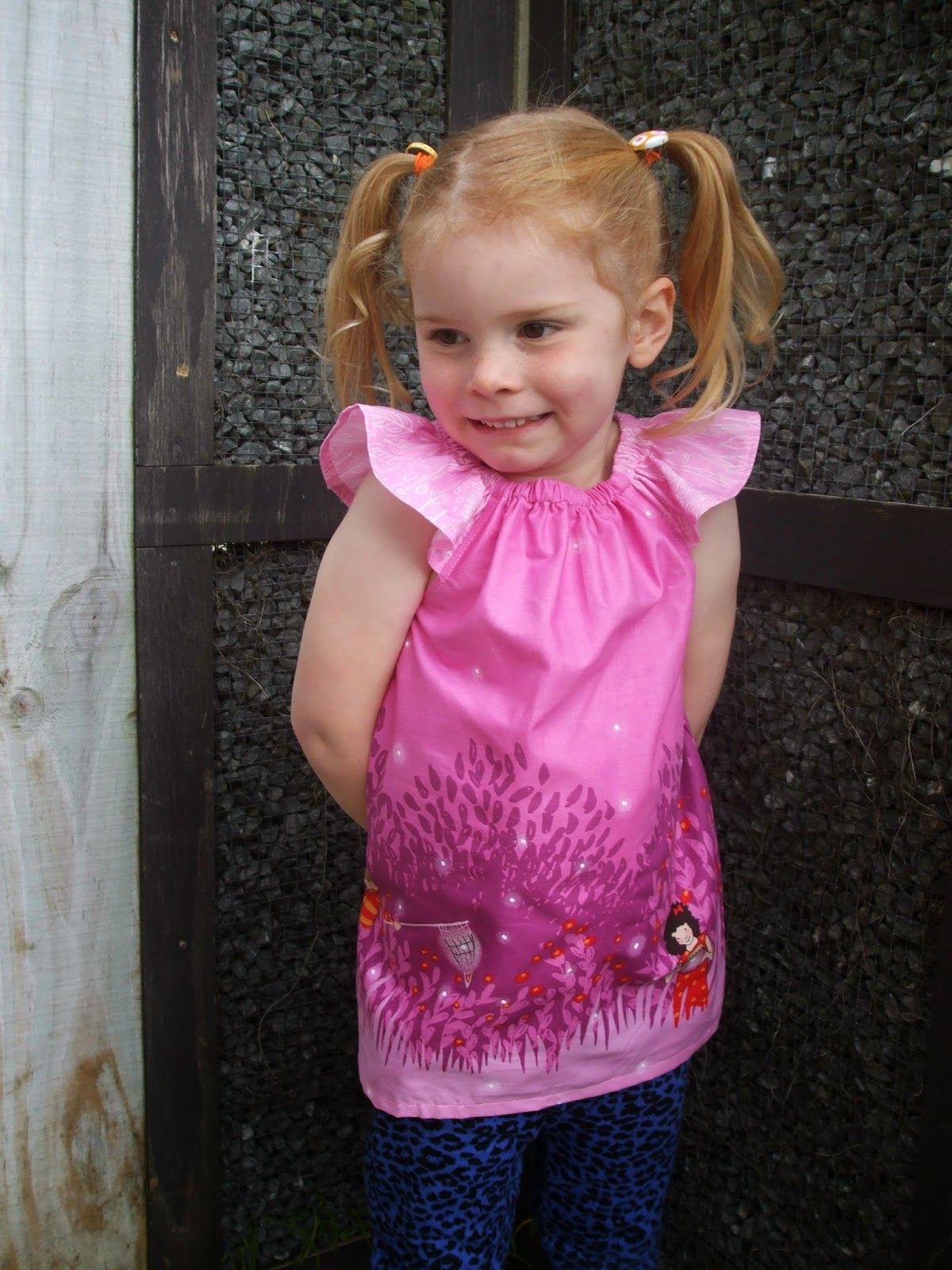Flutterby Dress/Top from LittleKiwisCloset