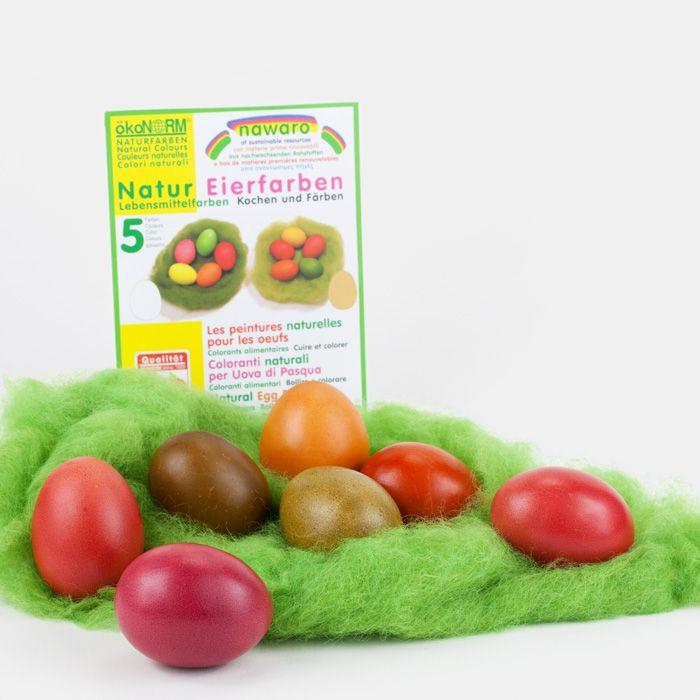 OSTERN !!! - Wie wäre es mit Bio-Ostereierfarben? http://www.echtkind.de/themenwelten/ostern/ostereierfarben-5-farben.html