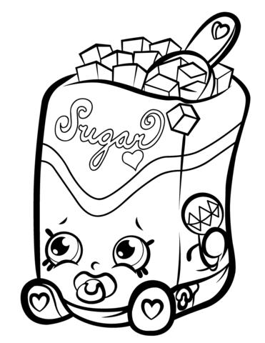 Sugar Lump Shopkin Mlarbok
