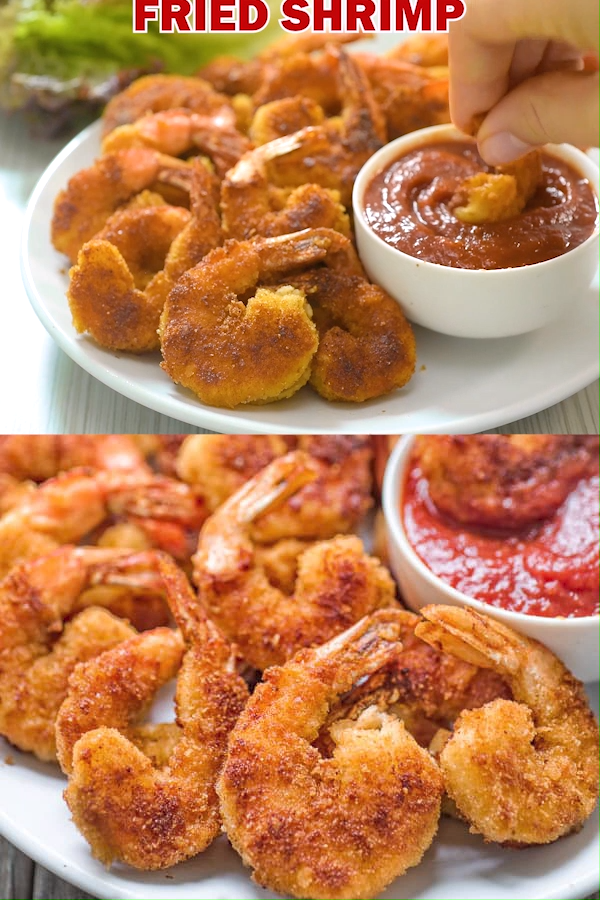 Fried Shrimp #seafooddishes