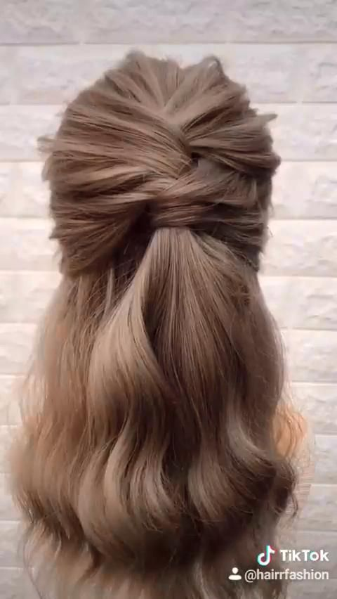 Easy Party Hair Tutorial