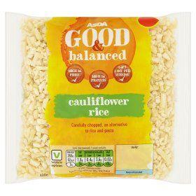 Asda Good Balanced Cauliflower Rice Online Food Shopping Food