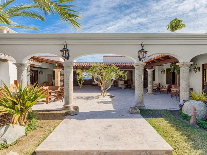 Luxury Homes Cabo Mexican House Pinterest Hacienda Style Homes