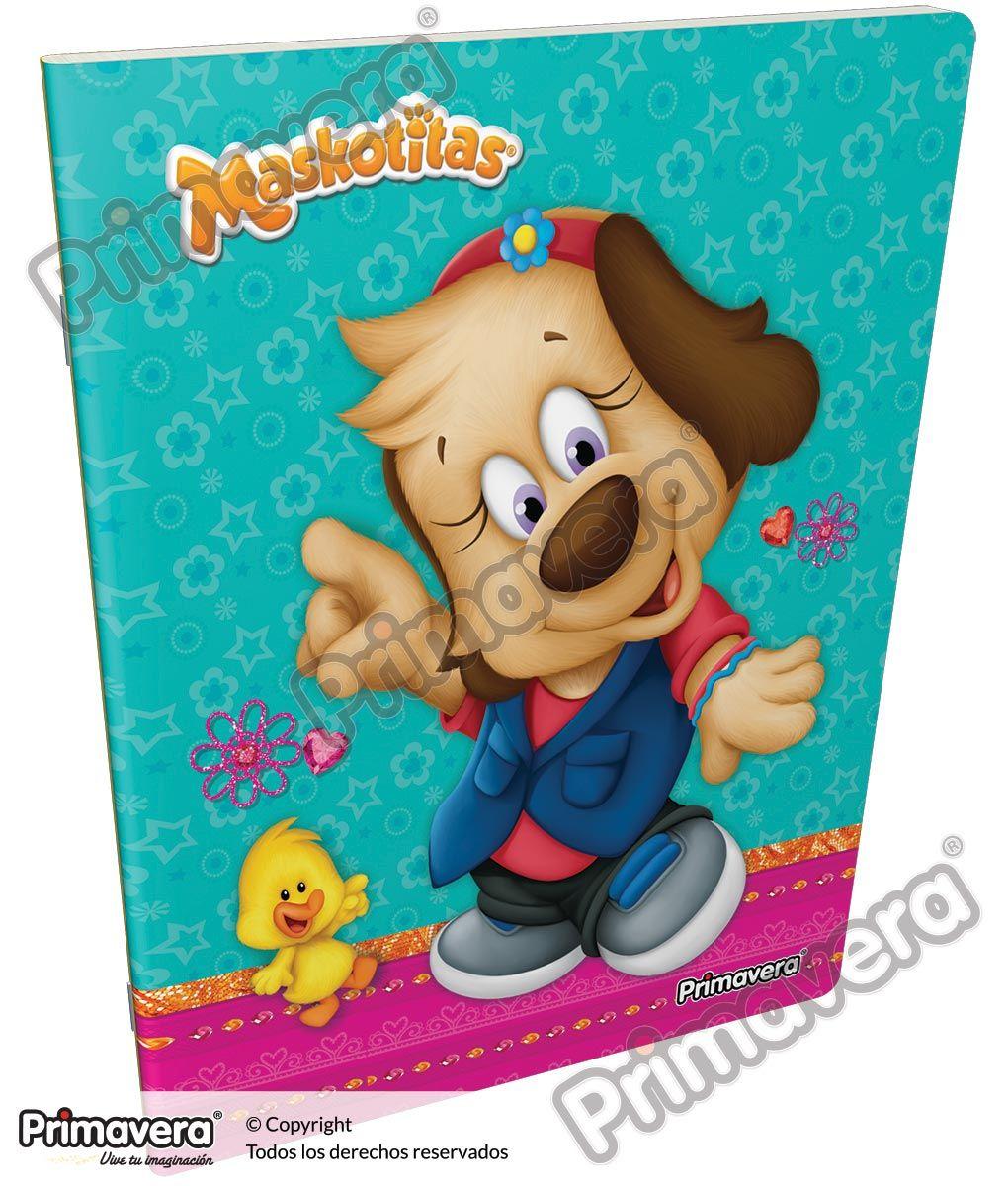 Cuaderno Grapado Maskotitas http://escolar.papelesprimavera.com/product/cuaderno-grapado-maskotitas-primavera-4/
