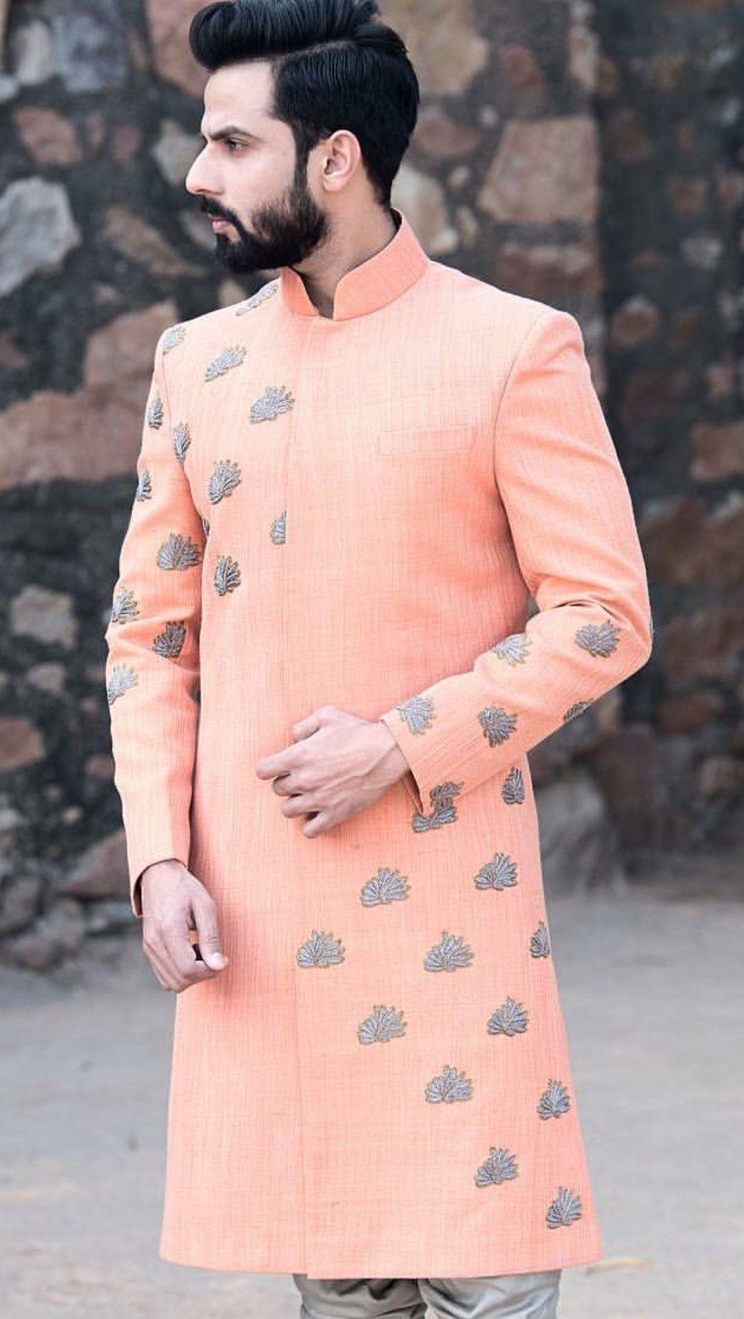 pin by nirmal on sherwani | indian men fashion, mens kurta