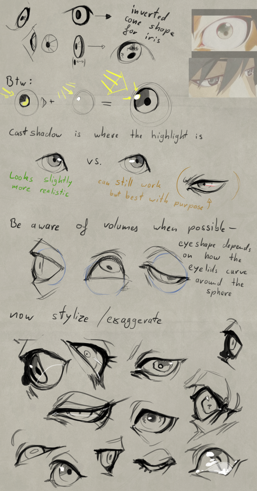 Eye Tutorial By Remarin Art Reference Poses Eye Expressions Art Reference Photos