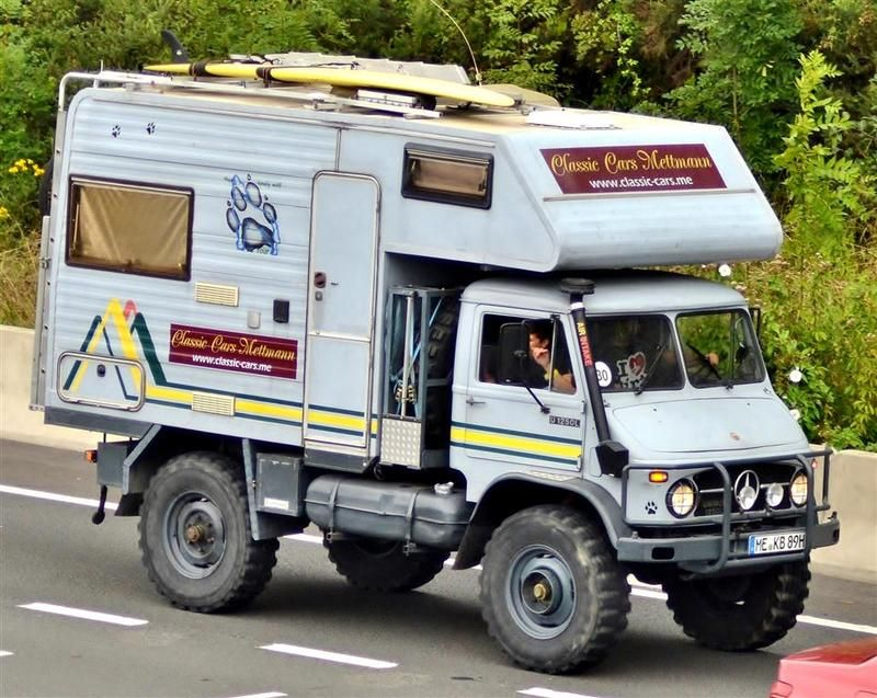 Mercedes Unimog Camper Conversion 404 Campermog