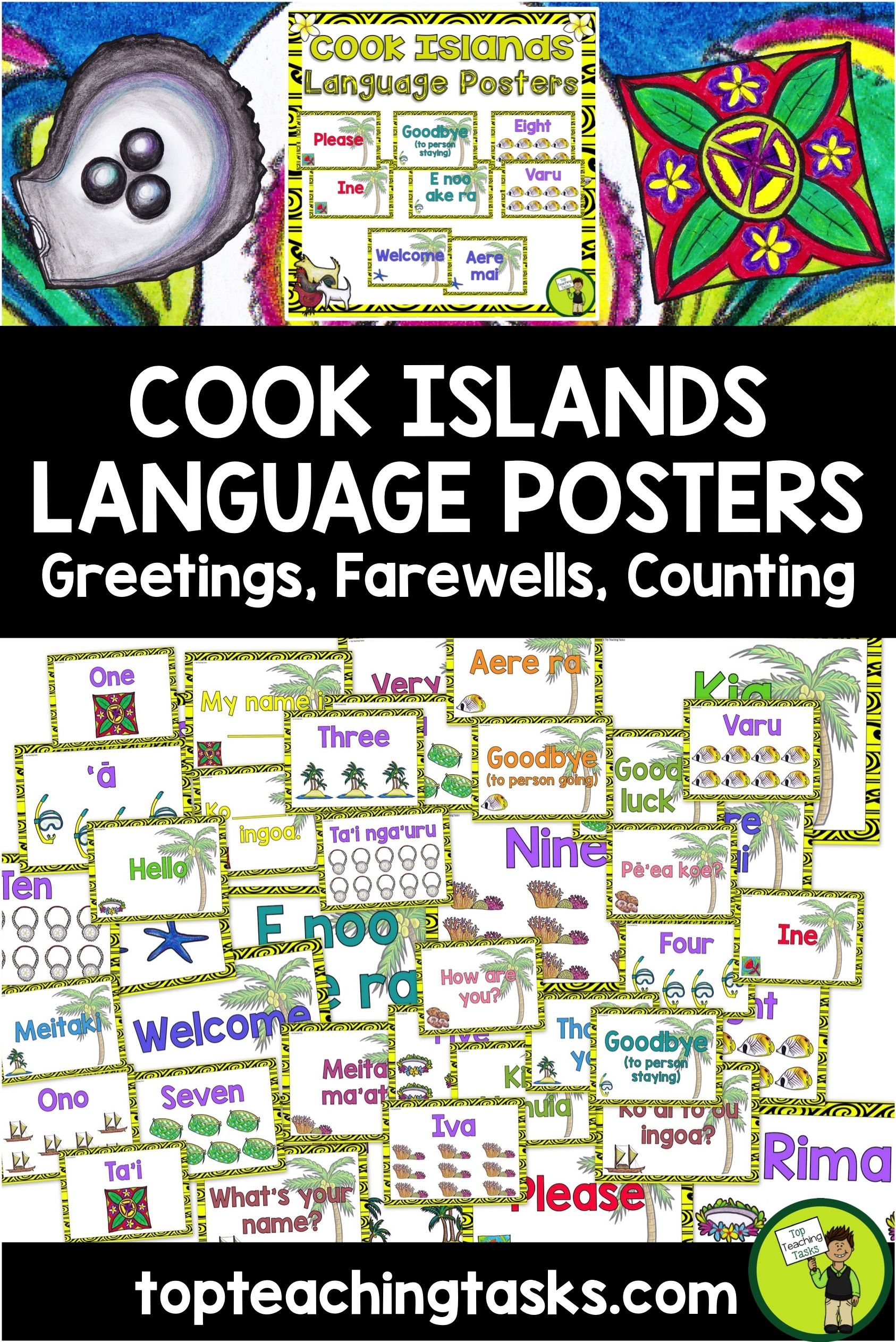Cook Islands Mori Greetings Introductions Farewells Classroom