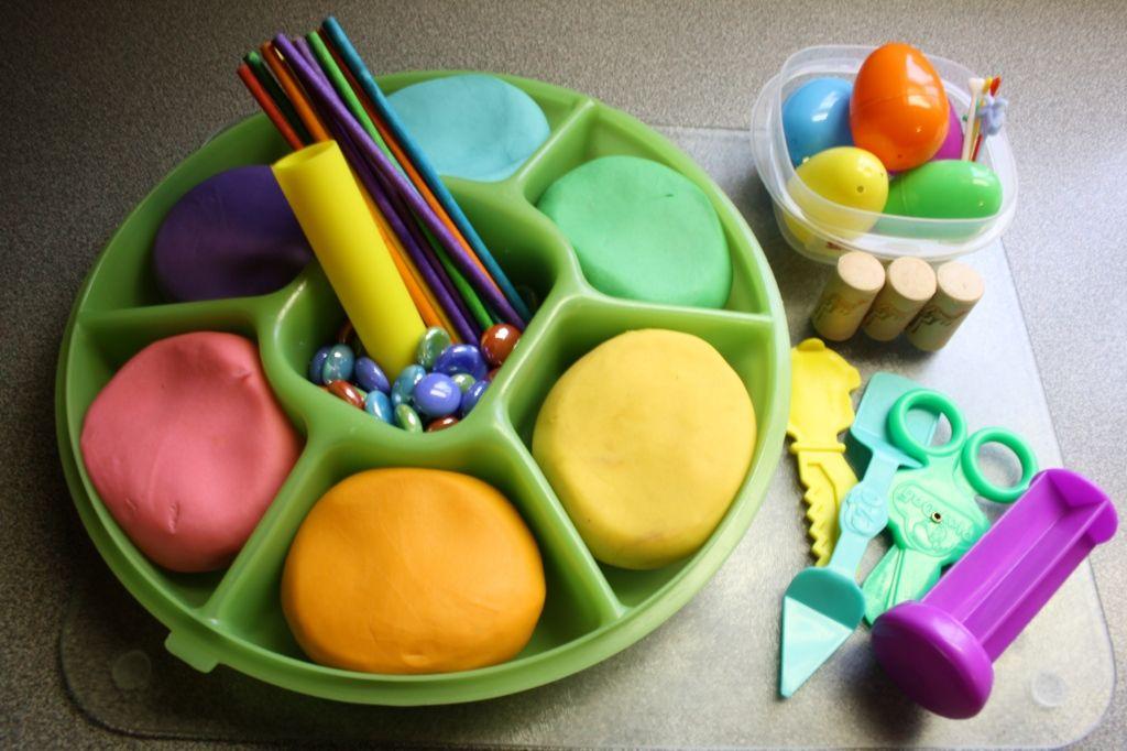 Homemade Playdough Rainbow Colours Rainbow Playdough