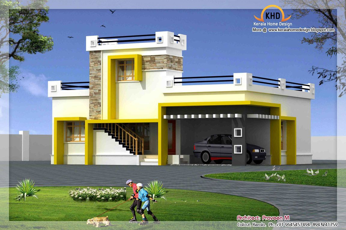 82f86148f8ba741fbeaf0f08d5c2e94d - 14+ 20 Foot Front Elevation Small House Single Floor House Front Design Images