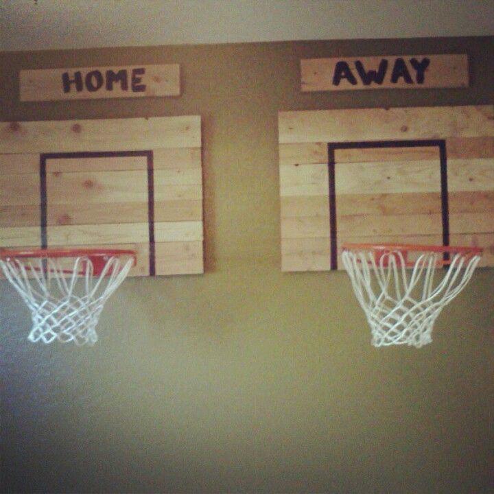 Basketball hoops for the boys room  fun stuff
