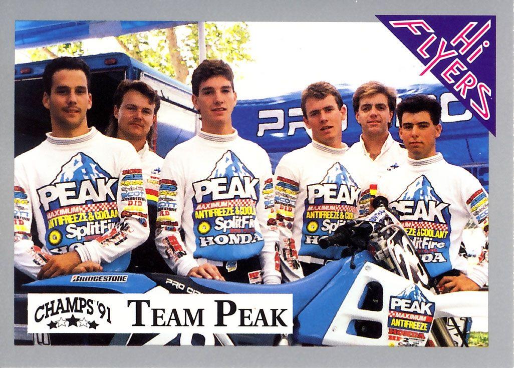 brapbraap: brapbraap e le Honda Team Peak Pro Circuit