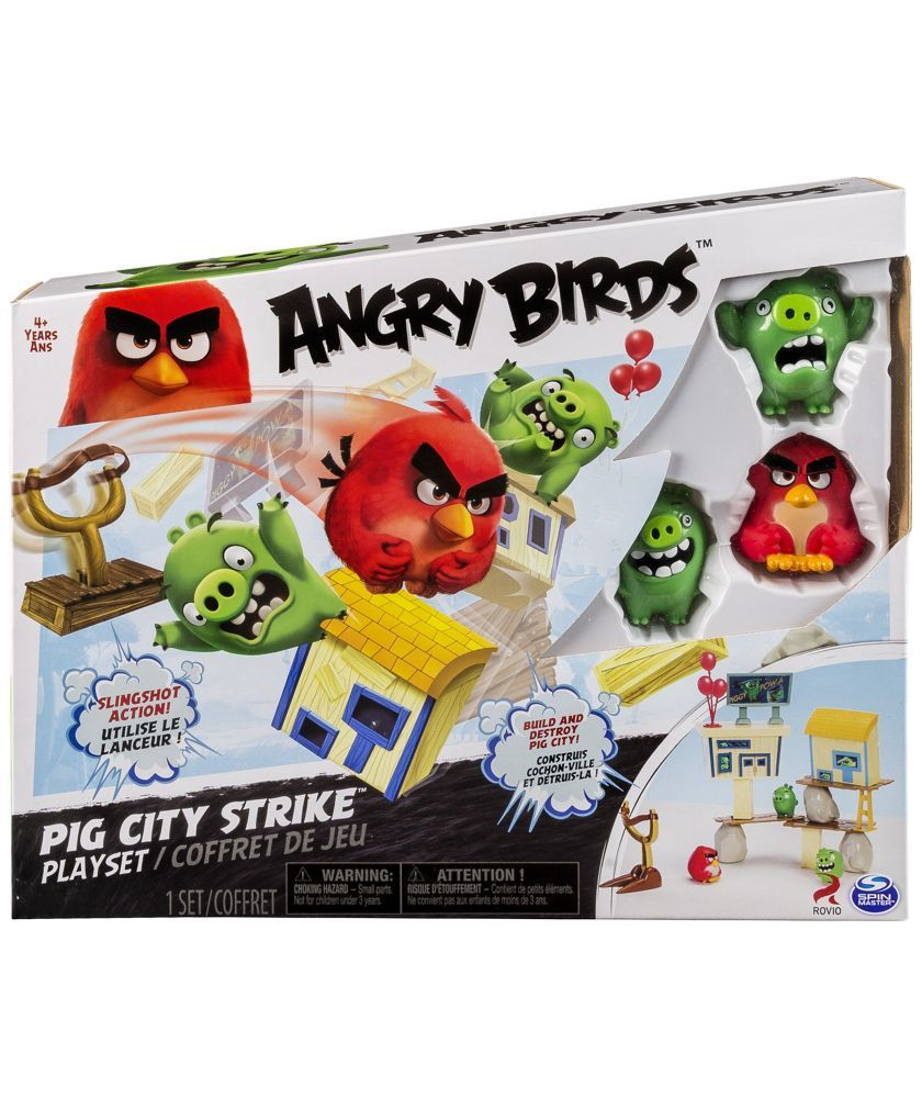 Buy angry birds attack on pig island playset at argosco
