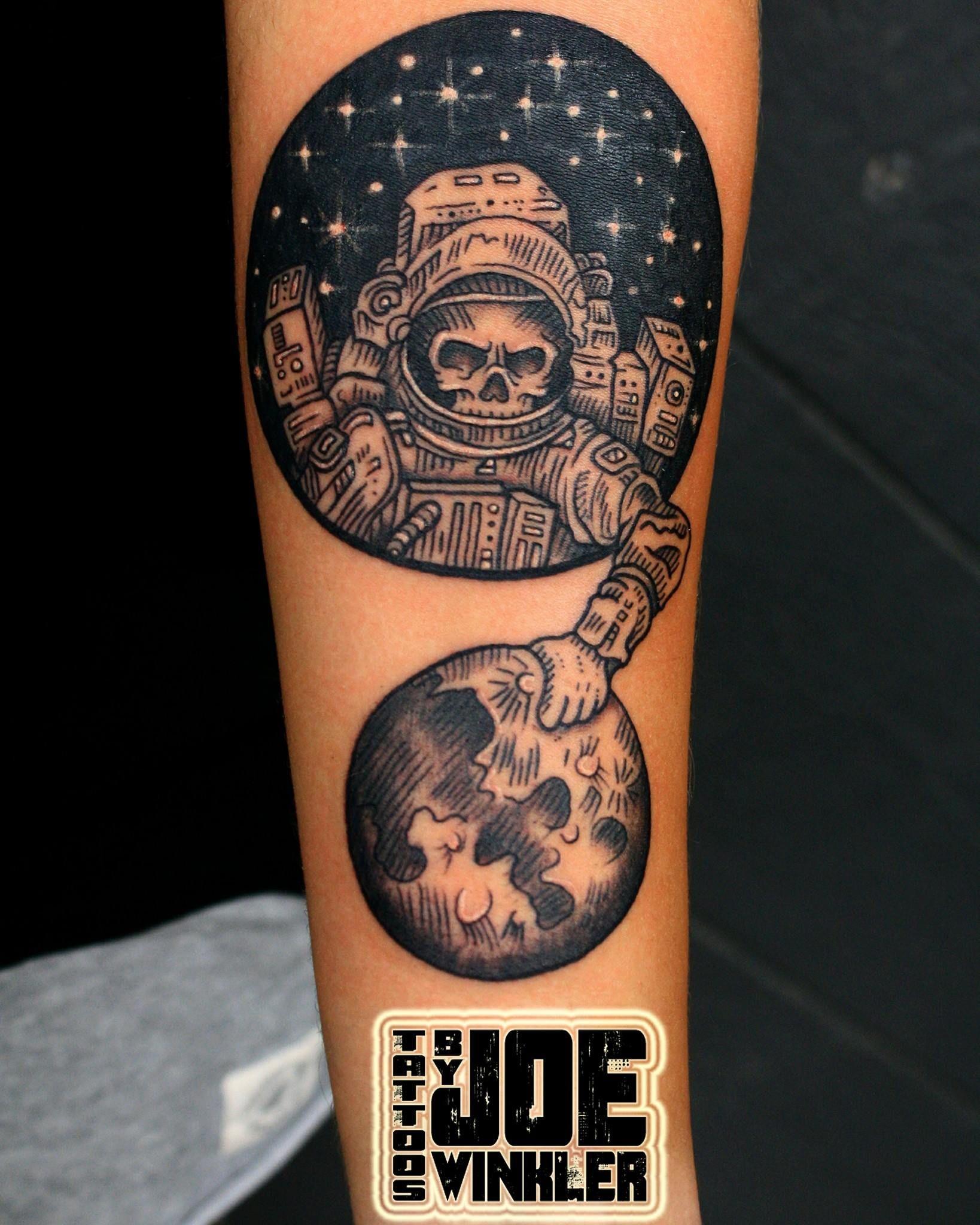 Blackwork Tattoo By Joe Winkler Elite Ink Tattoos Of Myrtle Beach