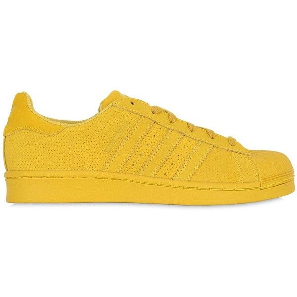 Adidas Originals Women Superstar Adicolor Suede Sneakers