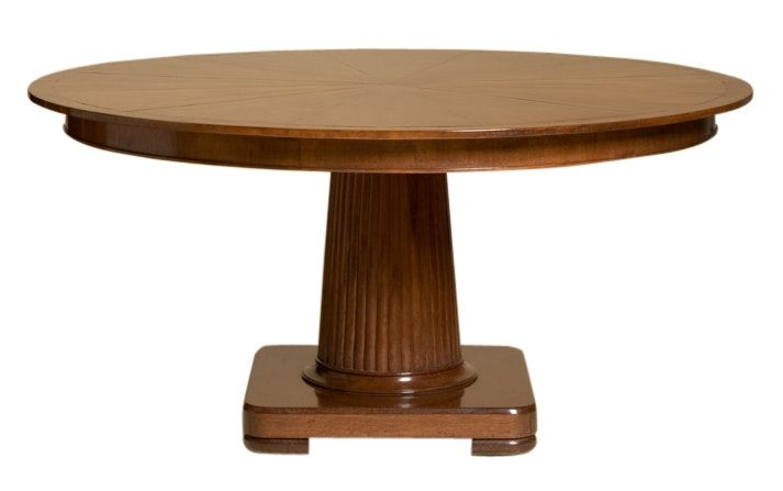 Buy Oxford Pedestal Dining Table From Rose Tarlow Melrose House By Boston Design Center BDC