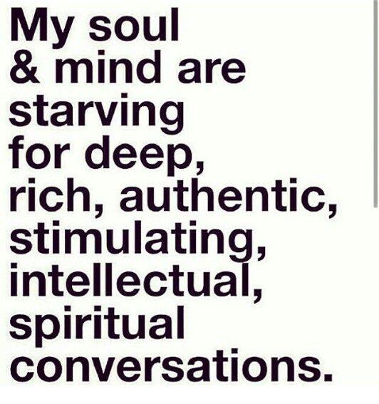 stimulating conversation meaning