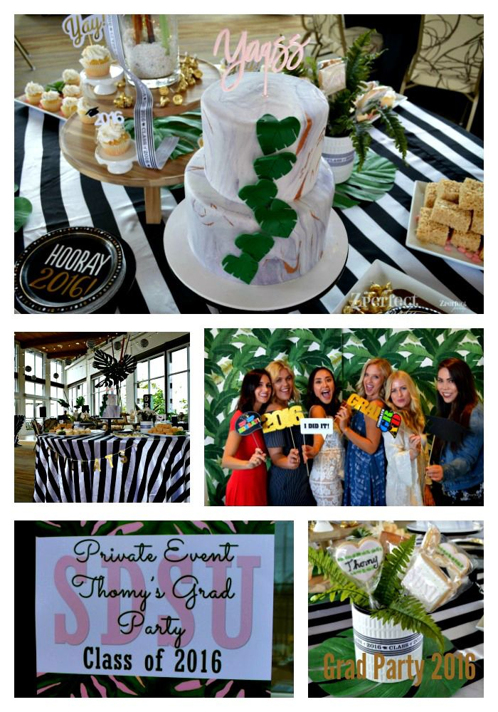Class Of 2016 Palm Beach Beverly Hills Hotel Inspired Party Graduation Party Ideas Graduation Party Graduation Decorations Grad Parties